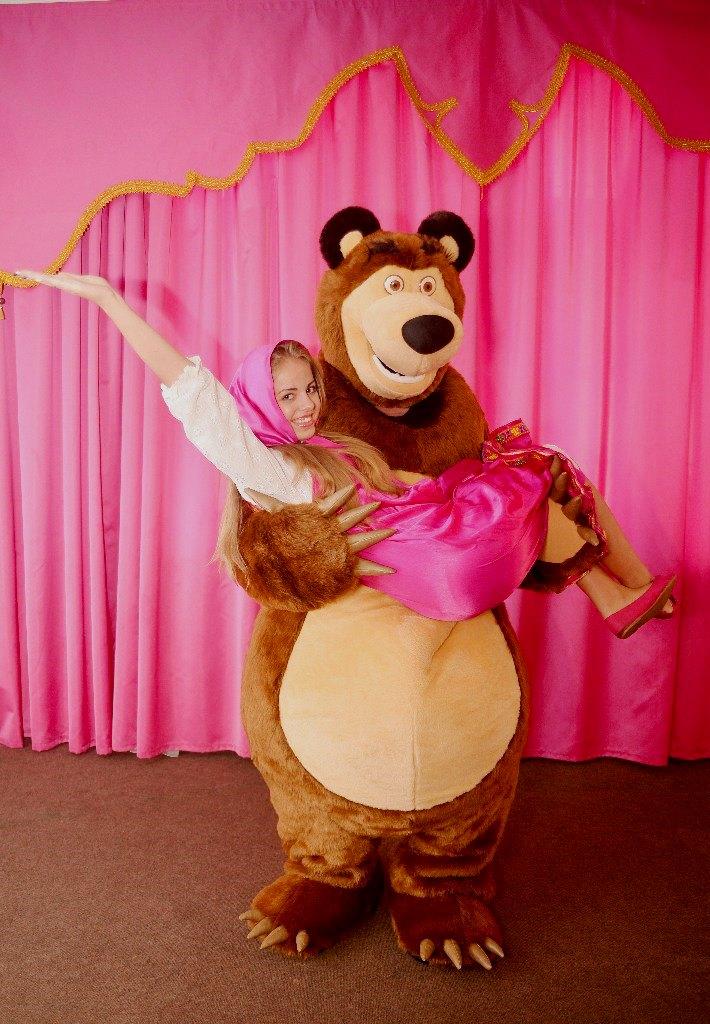 Костюм медведя из мультфильма маша и медведь своими руками
